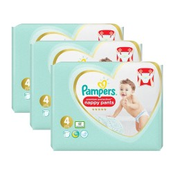 247 Couches Pampers Premium Protection Pants taille 4