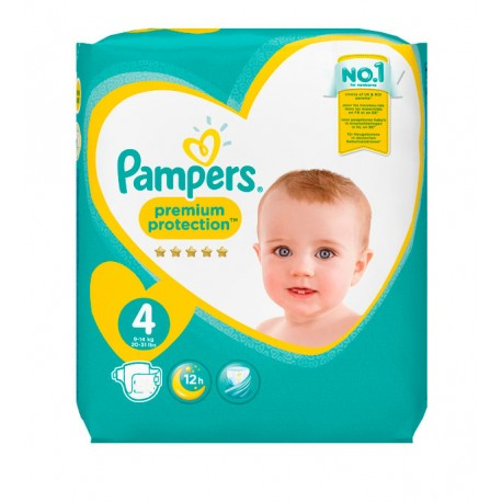 96 Couches Pampers New Baby Premium Protection taille 4 sur Sos Couches