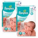 114 Couches Pampers ProCare Premium protection taille 0 sur Sos Couches