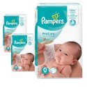 152 Couches Pampers ProCare Premium protection taille 0 sur Sos Couches