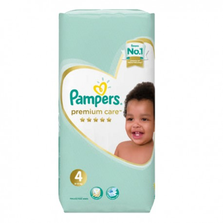 20 Couches Pampers New Baby Premium Care taille 4 sur Sos Couches