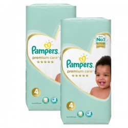 180 Couches Pampers New Baby Premium Care taille 4