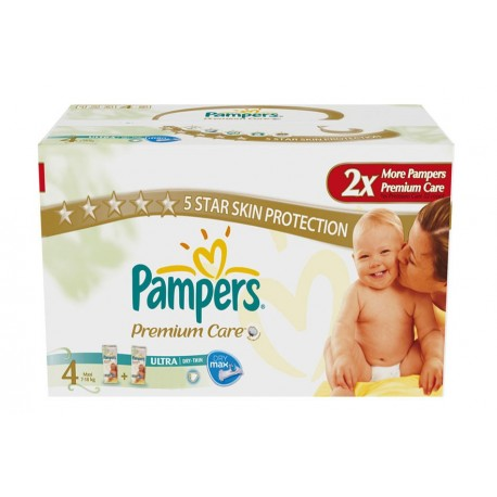 220 Couches Pampers New Baby Premium Care taille 4 sur Sos Couches