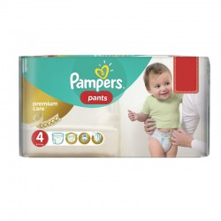 Pack 66 Couches Pampers Premium Care Pants
