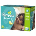 220 Couches Pampers Baby Dry taille 5 sur Sos Couches