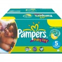 484 Couches Pampers Baby Dry taille 5 sur Sos Couches