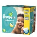 152 Couches Pampers Baby Dry taille 3 sur Sos Couches