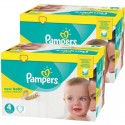 768 Couches Pampers New Baby Premium Protection taille 4 sur Sos Couches