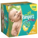 Mega pack 99 Couches Pampers Baby Dry taille 2 sur Sos Couches