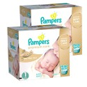 418 Couches Pampers New Baby Premium Care taille 1 sur Sos Couches