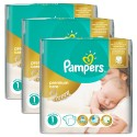 484 Couches Pampers New Baby Premium Care taille 1 sur Sos Couches